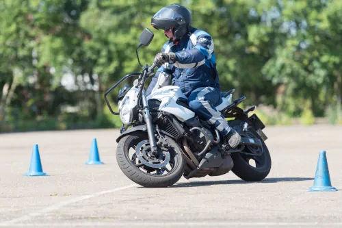 Motorrijbewijspoint Stein motor rijtest