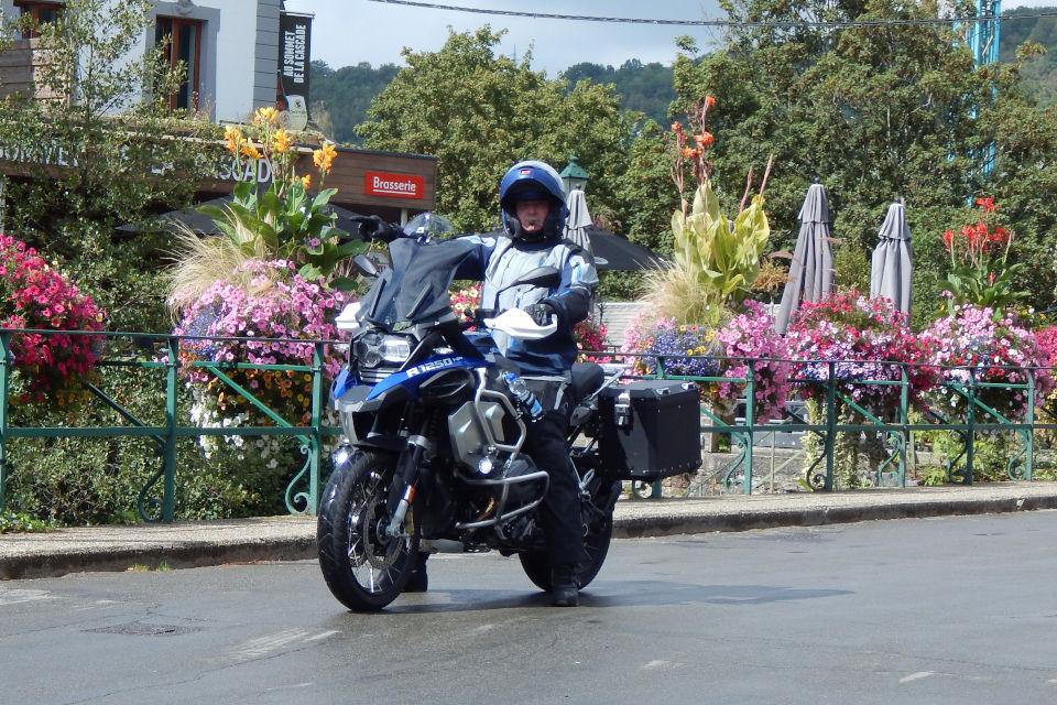 Motorrijbewijspoint Stein examengarantie AVB en AVD